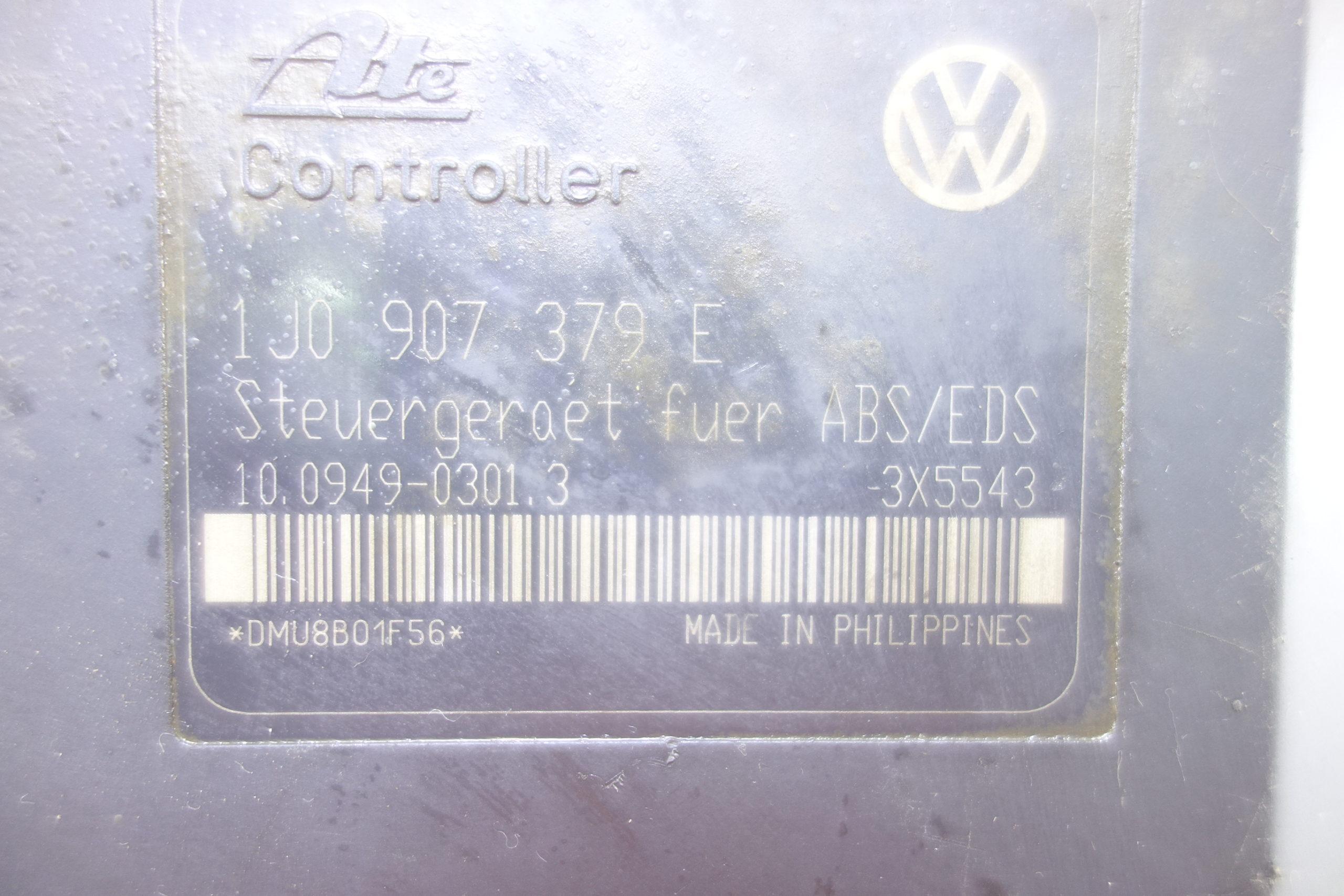 Abs Audi A3 8l Vw Golf 1j0614217b 1 J0 614 217 B